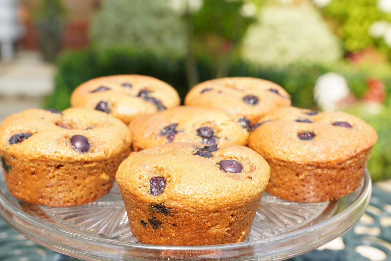 Gluten & refined sugar free muffins
